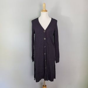 Free People Sparkly Cardigan Duster Size Medium